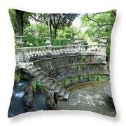 Villa Lante Garden Throw Pillow