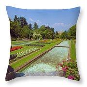 Villa Taranto Gardens,lake Maggiore,italy Throw Pillow
