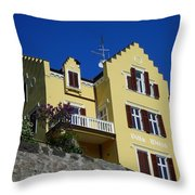Villa Weiss Throw Pillow