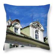 Villa Yagerhaus 5 Throw Pillow