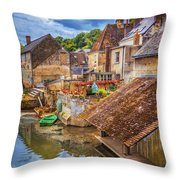 Village At The River Throw Pillow