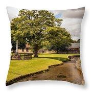 Village Green Throw Pillow