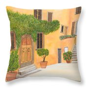 Village In Tuscany N. 4 - Throw Pillow