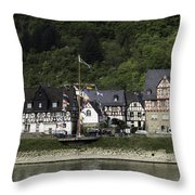 Village Of Spay 11 Throw Pillow