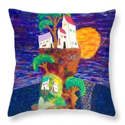 Village Retreat 15-16 Throw Pillow
