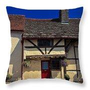 Village Tudors Throw Pillow