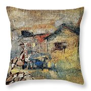 Village Zone 1 Throw Pillow