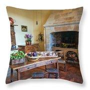 Villandry, Loire, France, Kitchen Throw Pillow