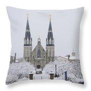 Villanova Snow Throw Pillow