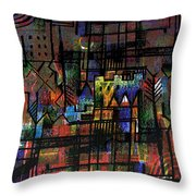 Ville Francaise Throw Pillow