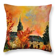 Villers Sur Semois Throw Pillow