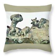 Vilsec Fountain Throw Pillow
