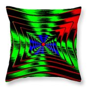 Vim And Vigor Throw Pillow