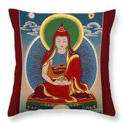 Vimalamitra Vidyadhara Throw Pillow