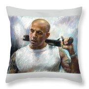 Vin Diesel Throw Pillow