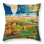 Vinales Throw Pillow