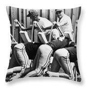 Vince Lombardi (1913-1970) Throw Pillow