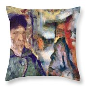 Vincent And Lalo-take 1 Throw Pillow