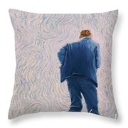 Vincent Coming Into The Light Throw Pillow
