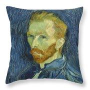 Vincent Van Gogh Self-portrait 1889 Throw Pillow