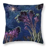 Vincent's Reef Throw Pillow