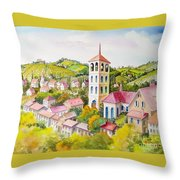 Vine Country Throw Pillow