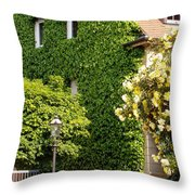 Vine Cover Throw Pillow
