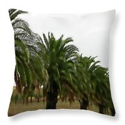 Vinescape Throw Pillow
