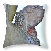 Vineyard Goddess Throw Pillow