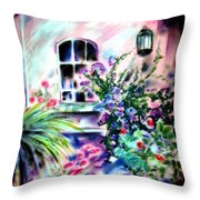 Vineyard Patio Throw Pillow