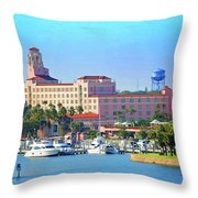 Vinoy Throw Pillow