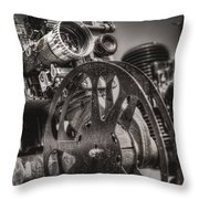 Vintage 16mm Throw Pillow