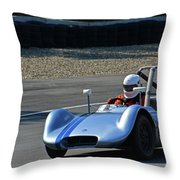 Vintage 1958 Elva Mk5 Throw Pillow