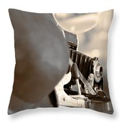 Vintage Antiques Throw Pillow