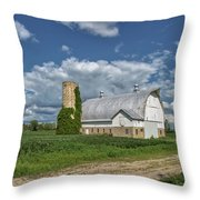 Vintage Barn Throw Pillow