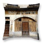 Vintage Boulangerie 1 Throw Pillow