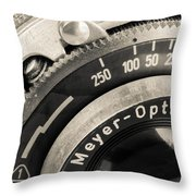 Vintage Camera -1 Throw Pillow