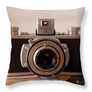 Vintage Camera C10i Throw Pillow