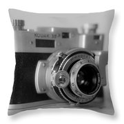 Vintage Camera C20f Throw Pillow