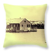 Vintage Cape Cod Throw Pillow