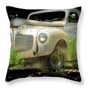 Vintage Car 29 Throw Pillow