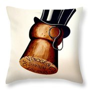 Vintage Champagne Throw Pillow