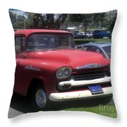 Vintage Chevrolet Apache 32 Pickup Throw Pillow