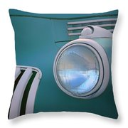 Vintage - Chevrolet Truck - Detail 1 Throw Pillow