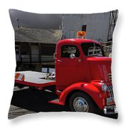 Vintage Chevrolet Truck Throw Pillow