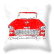 Vintage Chevy Throw Pillow