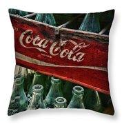 Vintage Coca Cola 1 Throw Pillow