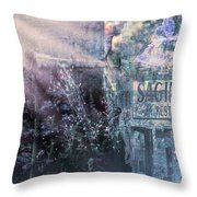 Vintage Collage 1 Throw Pillow