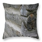Vintage Construction Throw Pillow