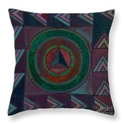 Vintage Country Pattern Throw Pillow